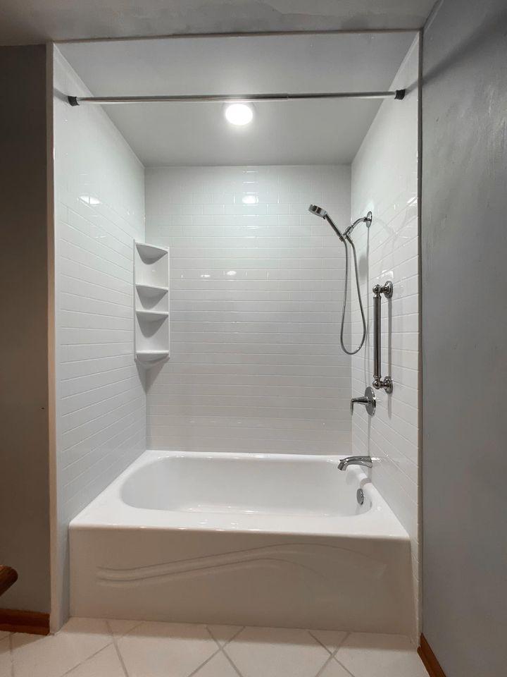 bathtub installation in franklin, wi - after
