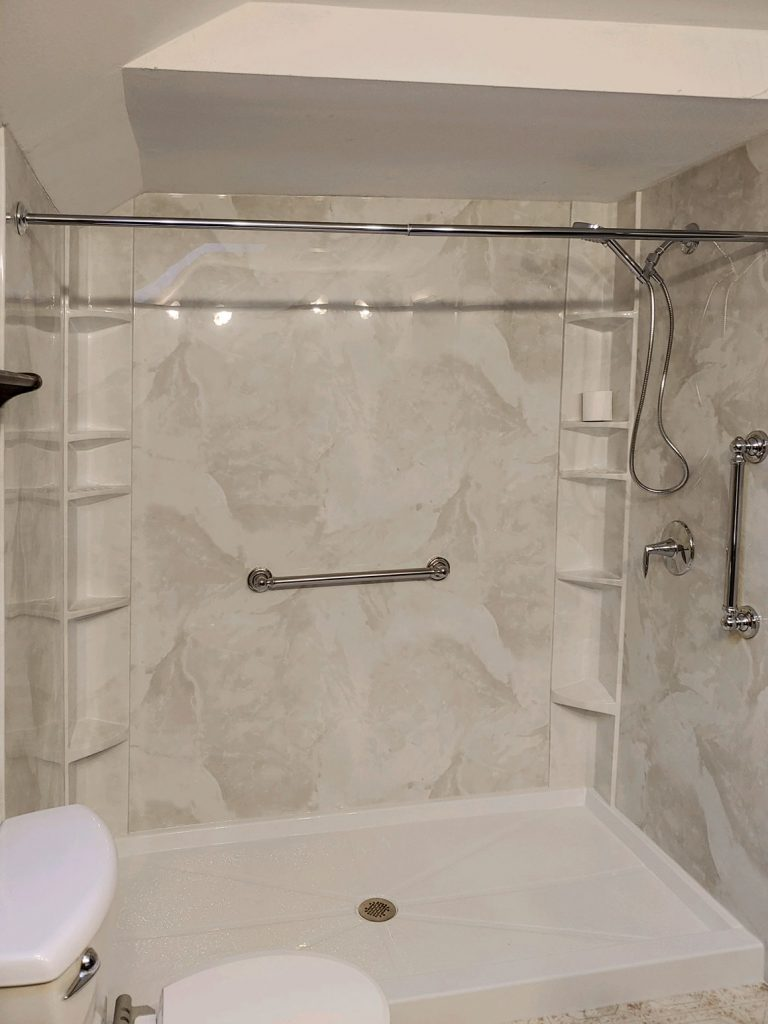 Tub to Shower Conversion in Waterford, WI