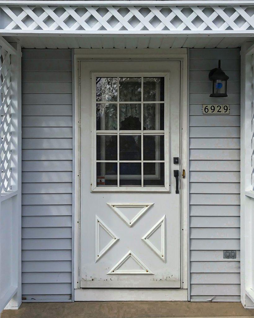 Before of Door Replacement in West Bend