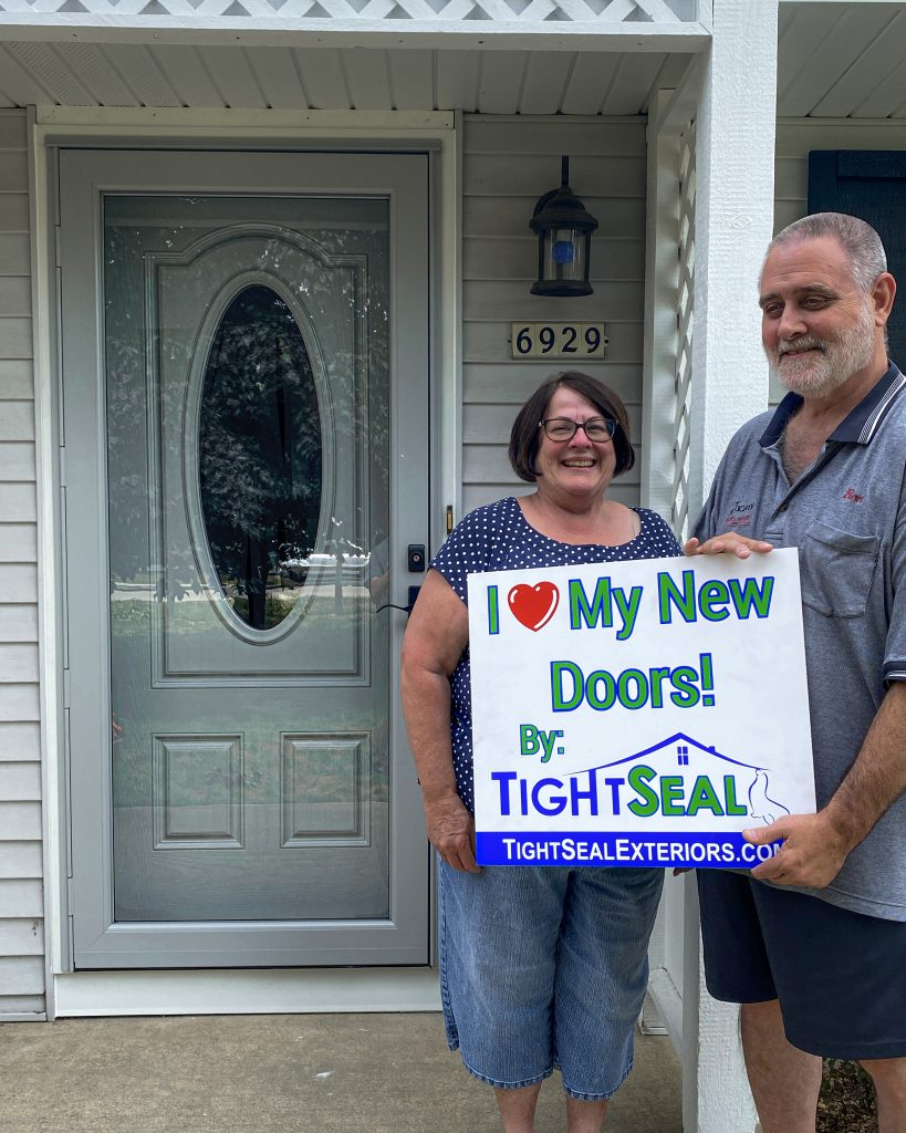 Door Replacement in West Bend by TightSeal Exteriors & Baths