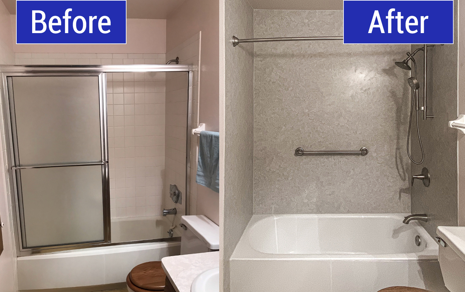 Double Bath Replacement in New Berlin, WI