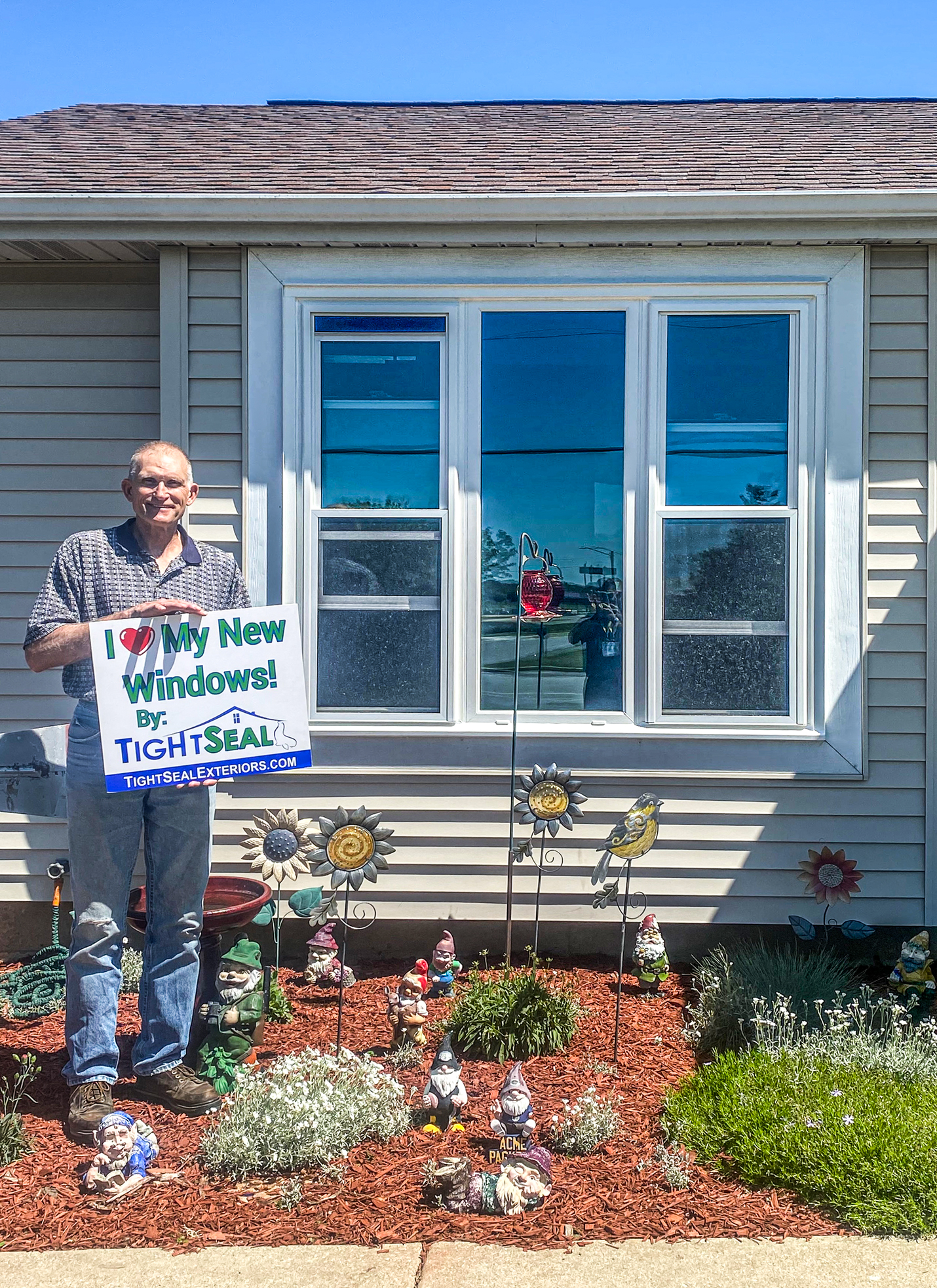Home Window Replacement in Lake Mills, WI by TightSeal Exteriors & Baths