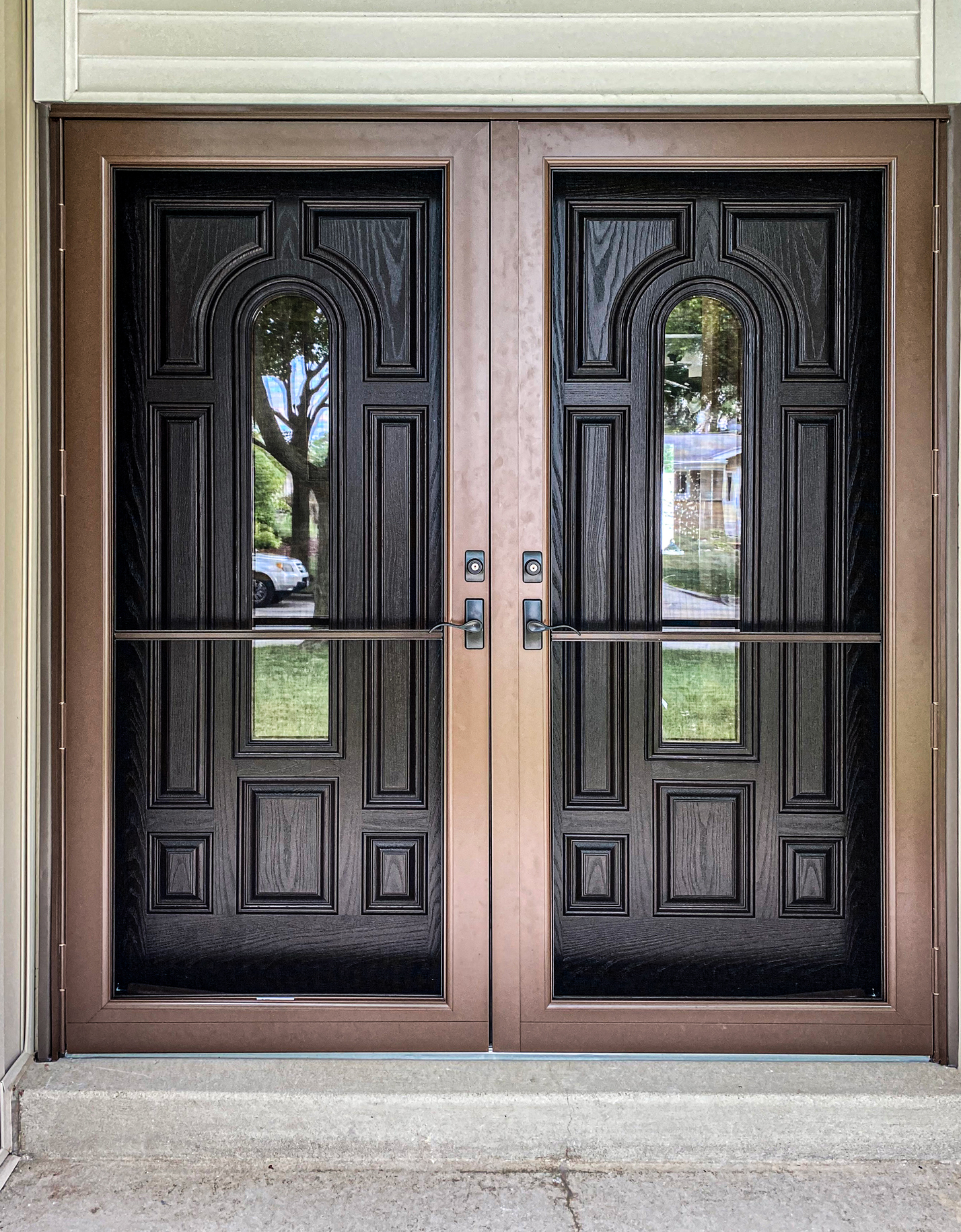 After Photo of Milwaukee Entry Door Replacement by TightSeal Exteriors & Baths