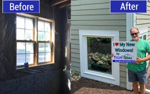Window Replacement in North Prairie, WI by TightSeal Exteriors