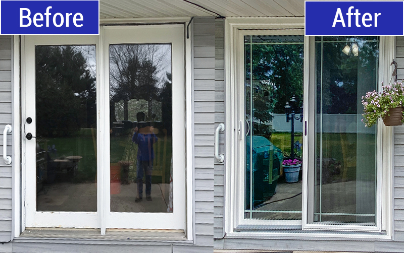 Patio Door Replacement in Dousman, WI by TightSeal Exteriors & Baths